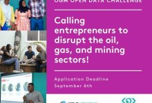 Photo of Application for MEST Africa/IFC OGM Open Data Challenge 2019 for young Entrepreneurs