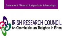 Photo of Government of Ireland (Masters & PhD) Postgraduate Scholarship Programme