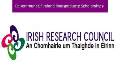 Photo of Government of Ireland (Masters & PhD) Postgraduate Scholarship Programme