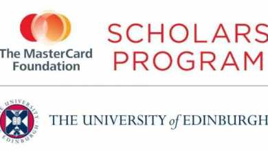 Photo of Apply for University of Edinburgh Mastercard Foundation Scholars Program 2020/2021 for study in Scotland (Fully Funded)