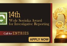 Photo of 2019 Wole Soyinka Award for Investigative Reporting for Nigerian journalists