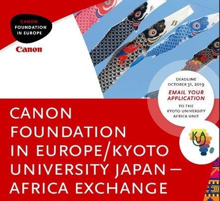 canon foundation japan kyoto africa exchange program jobsandschools