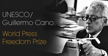 Photo of UNESCO/Guillermo Cano World Press Freedom Prize 2020
