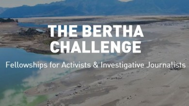 Photo of 2020 Bertha Foundation Challenge Fellowships for Activists & Investigative Journalists
