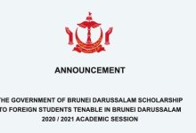 Photo of Government of Brunei Darussalam Scholarships 2020/2021