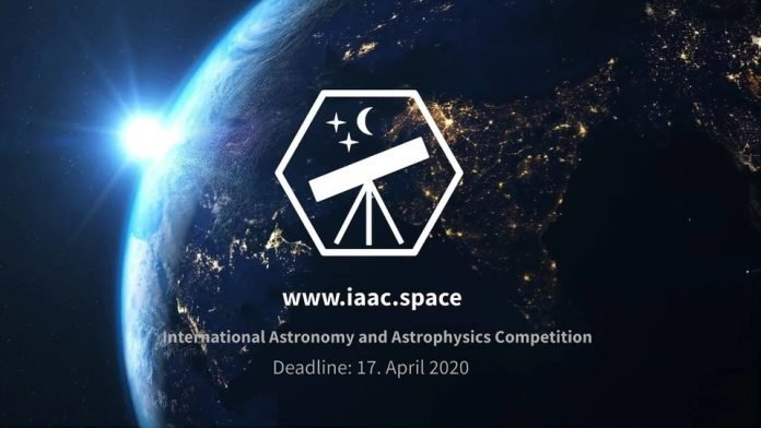 iaac ASTRONOMY 2020 competition