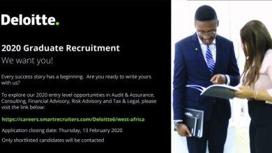 Photo of Deloitte 2020 Graduate Recruitment (Application ongoing)