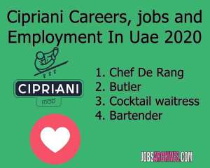 Cipriani Careers, jobs and Employment In Uae 2020,cipriani venice, cipriani restaurant, giuseppe cipriani, cipriani menu, cipriani new york, cipriani london, cipriani italy, cipriani pasta,