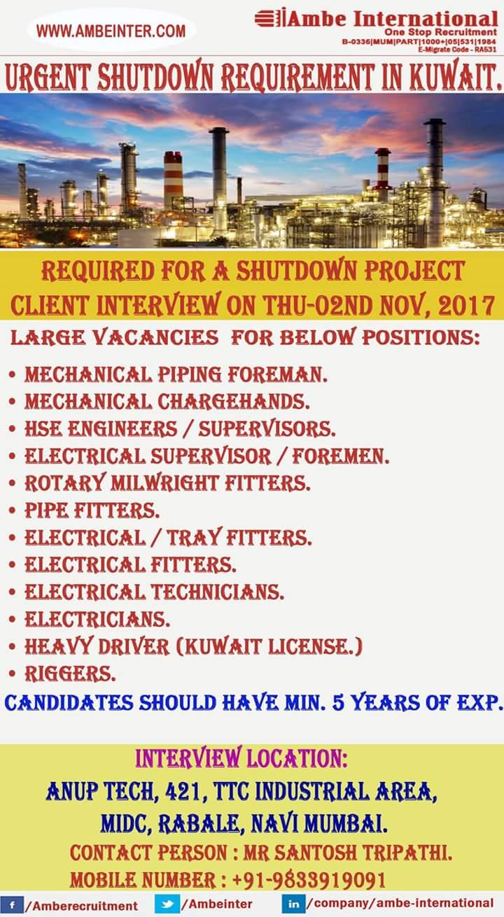 Kuwait Large Job Vacancies - Inspirational Interior style