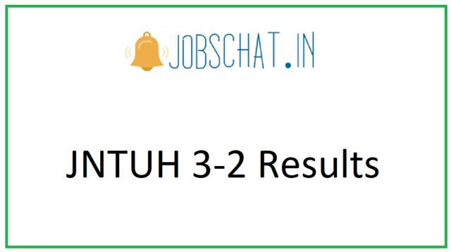 JNTUH 3-2 परिणाम