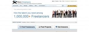 Freelance Jobs from guru