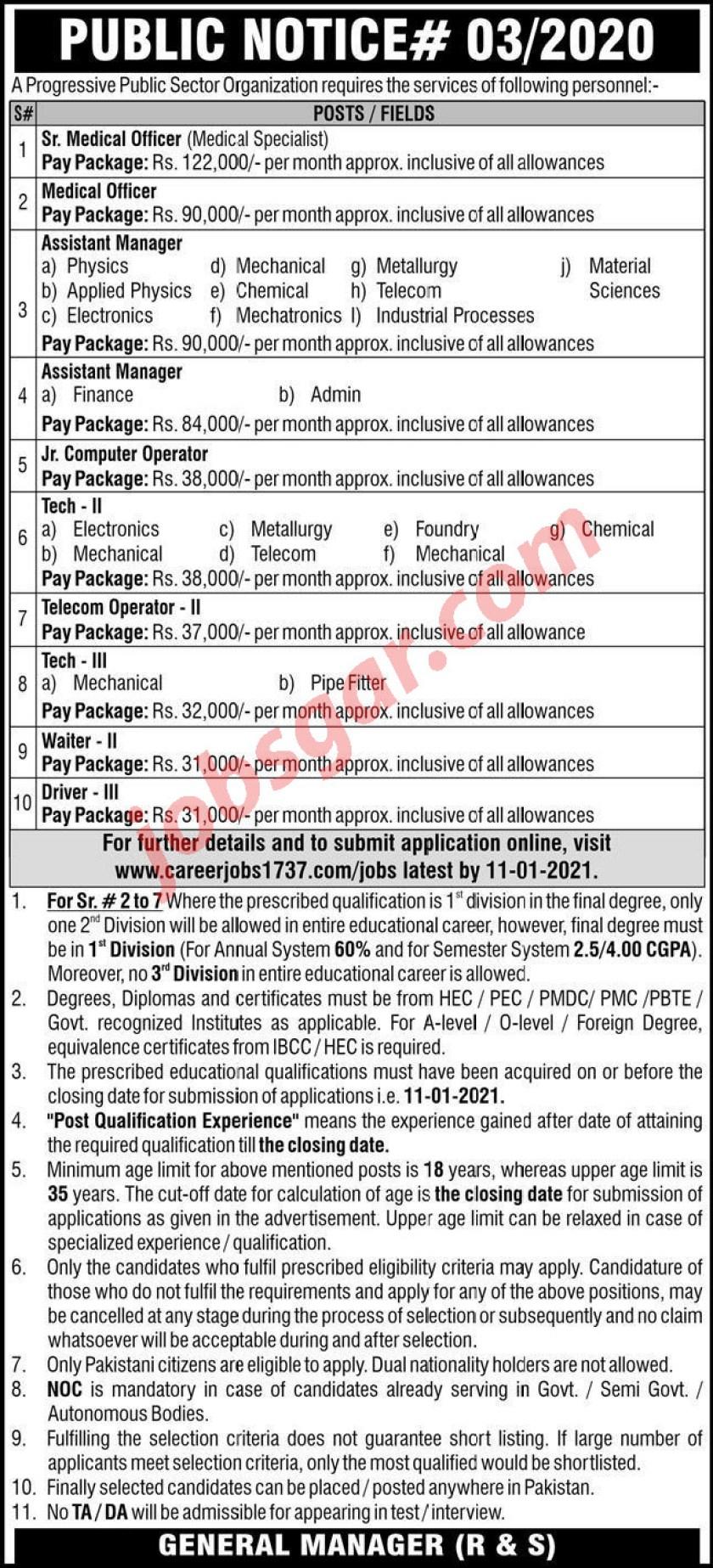 PAEC Jobs Dec 2020 Pakistan Atomic Energy Commission