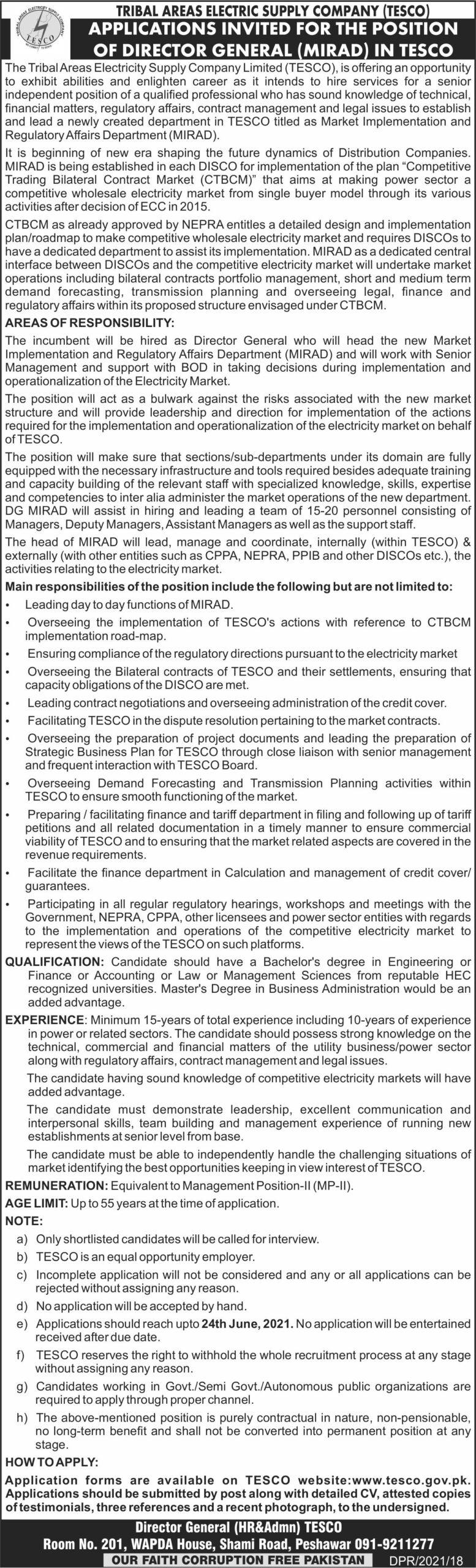 TESCO Jobs 2021