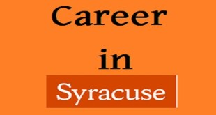 Syracuse University published a Job Circular