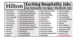 Hilton Hotels & Resorts in Jobs Circular