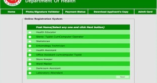 Directorate General Of Health Services DGHS
