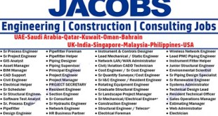 Jacobs Engineering Job Vacancies