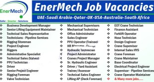 Latest Job Vacancies at EnerMech