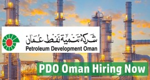 PDO Oman Jobs and Careers 2019