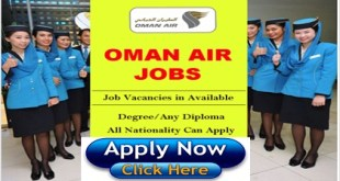 JOB VACANCIES AT OMAN AIR
