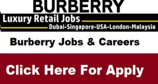 Burberry Jobs & Careers