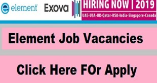 Element Job Vacancies