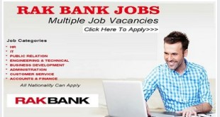HIRING NOW! RAK BANK CAREERS