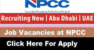 Job Vacancies at NPCC