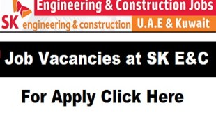 Job Vacancies at SK E&C