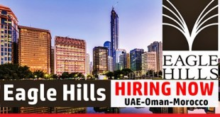Latest Job Vacancies at Eagle Hills