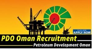 PDO Oman Careers & Recruitment