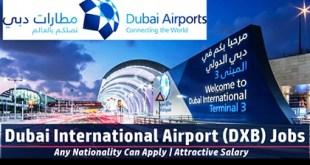 Dubai Airports Job Vacancies 2019