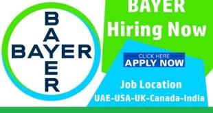 Latest Job Vacancies at Bayer Pharmaceutical