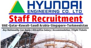 Latest Jobs at Hyundai Engineering and Construction