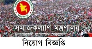 Ministry Of Social Welfare Job Circular 2019