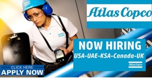 New Job Vacancies at Atlas Copco