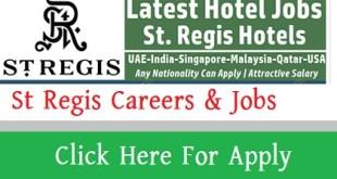 St Regis Careers & Jobs