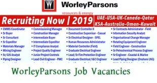WorleyParsons Job Vacancies