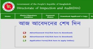 Directorate of Inspection and Audit (DIA)