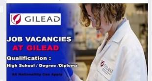 GILEAD SCIENCES, INC-JOB VACANCIES OPENINGS