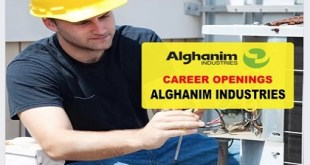 MANY JOBS ALGHANIM INDUSTRIES
