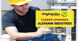MANY JOBS ALGHANIM INDUSTRIES
