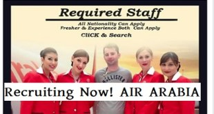 Recruiting Now! AIR ARABIA