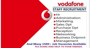 Staff Recruitment At Vodafone