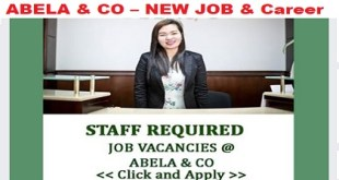ABELA & CO – NEW JOB
