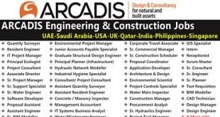 Job Vacancies at ARCADIS | UAE-Saudi Arabia-USA-UK-Qatar-India-Philippines