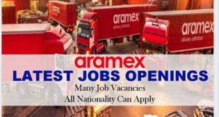 LATEST JOB VACANCIES AT ARAMEX | Multiple Location