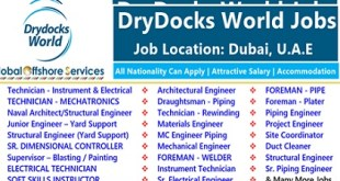 Job Vacancies at DryDocks World 2019