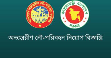 Bangladesh Inland Water Transport Authority Government Job Circular