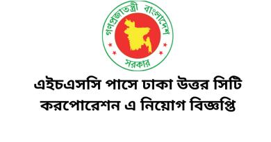 Job Circular Dhaka North City Corporation